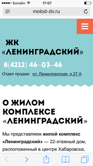 жк ленинградский портфолио