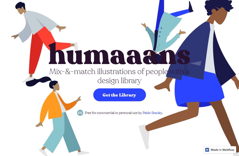 Humaaans illustrations